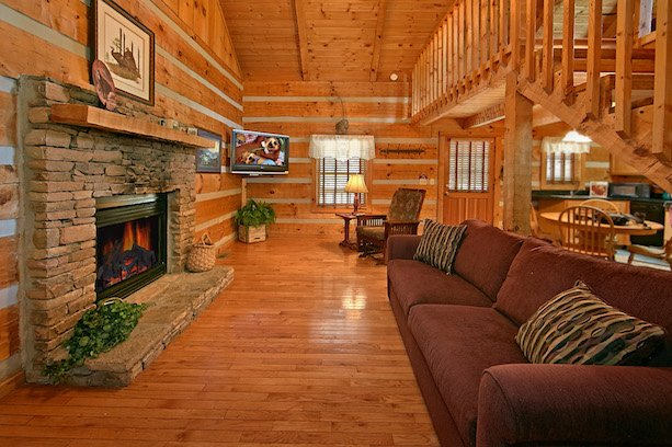 Enjoy a beautiful mountain view in one of our Cabins.