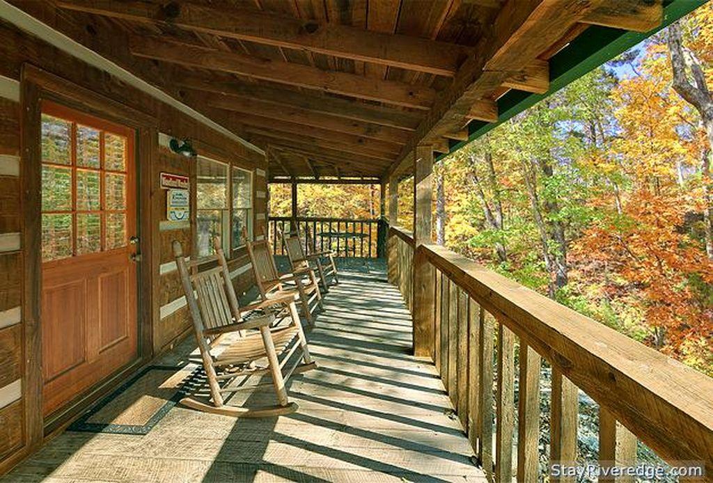 Woodland Wonder View Of Deck